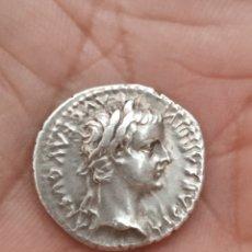 Monedas Imperio Romano: DENARIO DE TIBERIO. Lote 195191282