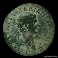 Monedas Imperio Romano: DUPONDIO DE TRAJANO - TR POT II - 28 MM / 13.44 GR.. Lote 195230210