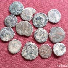 Monedas Imperio Romano: LOTE DE 12 MONEDAS ROMANAS. Lote 195231400