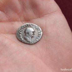 Monedas Imperio Romano: VESPASIANO. DENARIO ROMANO DE PLATA. Lote 195231543