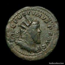 Monedas Imperio Romano: MUY RARO POSTUMO (260-269) DOBLE SESTERCIO VICTORIA AVG SC CAUTIVO. Lote 195285450