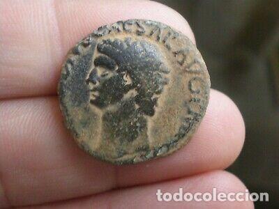 BONITO AS DE CLAUDIO (Numismática - Periodo Antiguo - Roma Imperio)