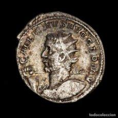 Monedas Imperio Romano: GALIENO (253-268) ANTONINIANO, PLATA. VICTORIA GERMANICA. MUY RARO. Lote 195373130