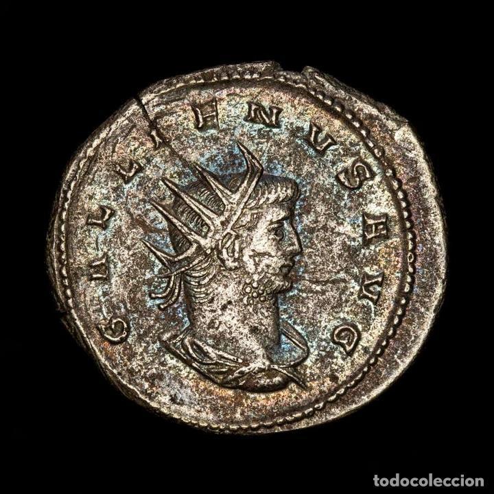 IMPERIO ROMANO - GALLIENO, ANTONINIANO. ANTIOQUÍA. VIRTVS AVG/* (Numismática - Periodo Antiguo - Roma Imperio)