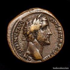 Monedas Imperio Romano: IMPERIO ROMANO - ANTONINO PÍO (138-161 D.C). SESTERCIO. S-C. MARTE. Lote 195387702