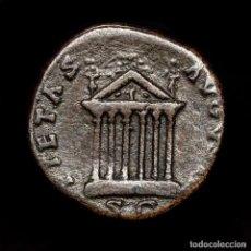 Monedas Imperio Romano: IMPERIO ROMANO- DIVA FAUSTINA I, SESTERCIO. ROMA, AD 141-146. TEMPLO. Lote 195412990