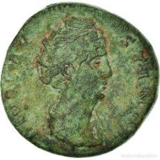 Monedas Imperio Romano: MONEDA, FAUSTINA I, SESTERCIO, ROMA, BC+, BRONCE, RIC:1120. Lote 195414212