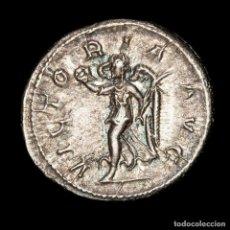 Monedas Imperio Romano: IMPERIO ROMANO - FILIPO I. ANTONINIANO DE PLATA. VICTORIA AVG. Lote 195464185