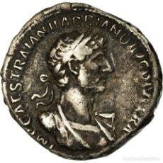 Monedas Imperio Romano: MONEDA, HADRIAN, DENARIUS, 117, ROMA, MBC, PLATA. Lote 195486361