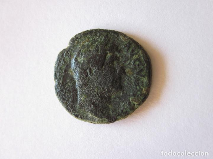 AS DE ADRIANO. SALUS AUGUSTI. (Numismática - Periodo Antiguo - Roma Imperio)