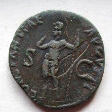 Monedas Imperio Romano: CLAUDIO- AS- CONSTANTIAE AVGVSTI- SC. Lote 196331387
