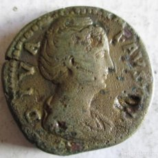 Monedas Imperio Romano: FAUSTINA SR.- SEXTERCIO. Lote 196354582