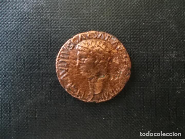 Monedas Imperio Romano: as emperador Claudio en buen estado ver fotos - Foto 3 - 197089586