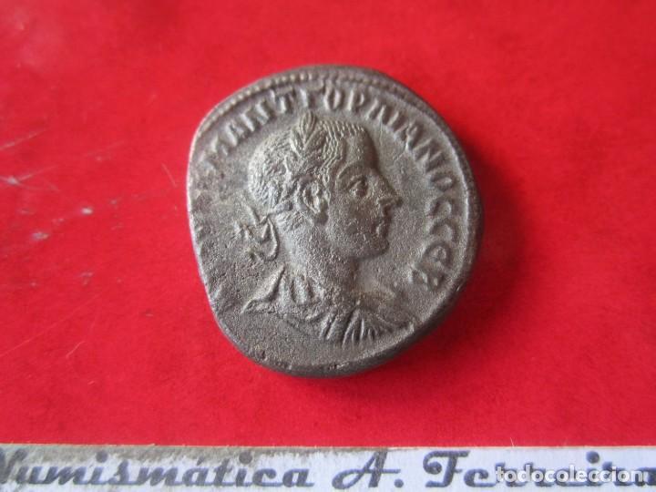 IMPERIO ROMANO. TETRADRACMA COLONIAL DE GORDIANO III. 238/144 (Numismática - Periodo Antiguo - Roma Imperio)