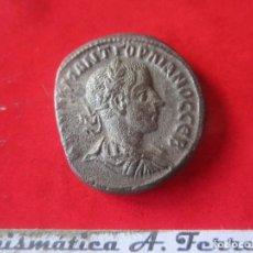 Monedas Imperio Romano: IMPERIO ROMANO. TETRADRACMA COLONIAL DE GORDIANO III. 238/144. Lote 197185770