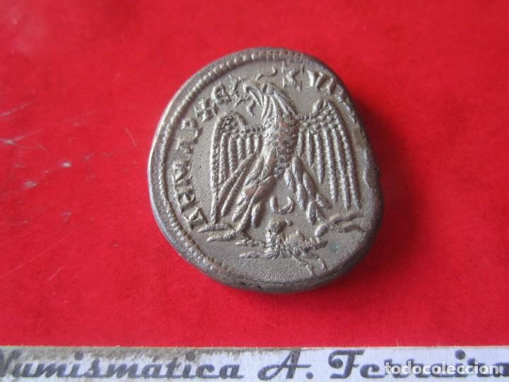 Monedas Imperio Romano: Imperio Romano. tetradracma colonial de Gordiano III. 238/144 - Foto 2 - 197185770