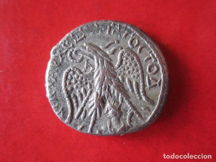 Monedas Imperio Romano: Imperio Romano. tetradracma colonial de Caracalla. 198/217 - Foto 2 - 197186341