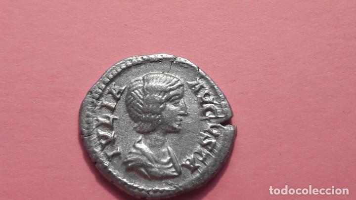 DENARIO DE IVLIA .AVGVSTA. PESO 3,16G PLATA/SILVER (Numismática - Periodo Antiguo - Roma Imperio)