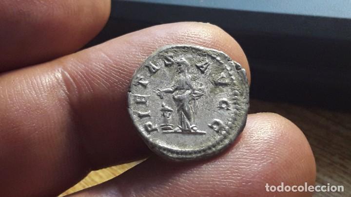 Monedas Imperio Romano: DENARIO DE JULIA DOMNA.. genuina y pieza legalizada de subasta de prestigio.. - Foto 6 - 197566202