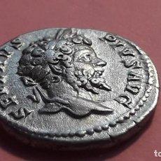Monedas Imperio Romano: SEPTIMIO SEVERO.. ROMA.. DENARIO.. EBC+. LEGAL Y AUTENTICO.. PROC SUBASTA INTERNACIONAL. Lote 197567088