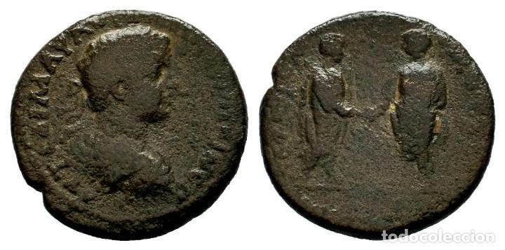 CARACALLA (198-217). CILICIA, HIEROPOLIS-CASTABALA. Æ. AE- 16,65 GR - 30,00 MM. MBC+ (Numismática - Periodo Antiguo - Roma Imperio)