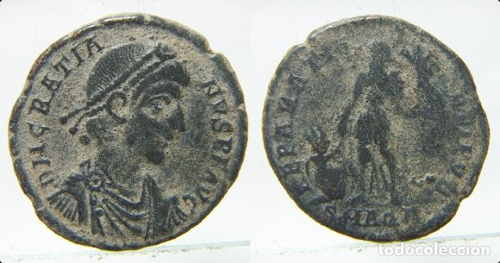 BONITA MAIORINA DE GRACIANO REPARATIO REIPVB CECA AQUILEIA 1ª OFICINA (Numismática - Periodo Antiguo - Roma Imperio)