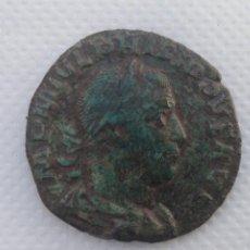Monete Impero Romano: MONEDA ROMANA SESTERCIO FILIPO EL ARABE BRONCE PIEZA ORIGINAL. Lote 199133957