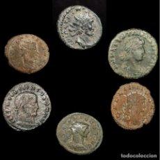 Monedas Imperio Romano: IMPERIO ROMANO LOTE DE SEIS MONEDAS (LOTE 23). Lote 199267545