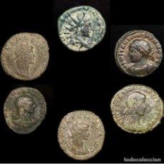 Monedas Imperio Romano: IMPERIO ROMANO LOTE DE SEIS MONEDAS (LOTE 24). Lote 199269420