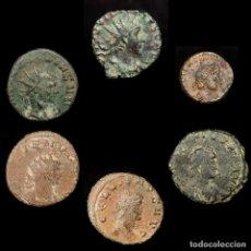 Monedas Imperio Romano: IMPERIO ROMANO LOTE DE SEIS MONEDAS (LOTE 26). Lote 199283965