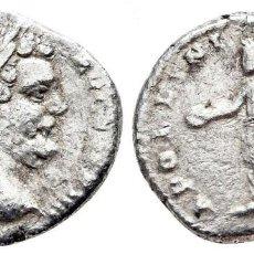 Moedas Império Romano: IMPERIO ROMANO! SEPTIMIO SEVERO 193-211. ROMA. DENARIO. DENARIUS AR 17MM., 1,87G. MBC. Lote 199679652
