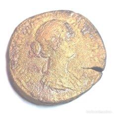 Monedas Imperio Romano: SESTERCIO FAUSTINA MADRE.- 22,32 GR.- 31 MM:..ORICALCO.. Lote 199922258
