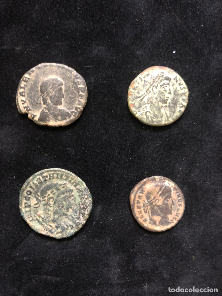 CONJUNTO DE 4 MONEDAS ROMANAS. (Numismática - Periodo Antiguo - Roma Imperio)