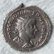 Moedas Império Romano: MONEDA DE DE ANTONINIANO DE GORDIANO CECA DE ROMA AÑO 241-243.D.C METAL PLATA. Lote 202258978