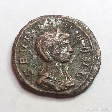 Monedas Imperio Romano: DENARIO FORRADO DE SEVERINA.- 3,68 GR. 18 MM.-. Lote 202273203