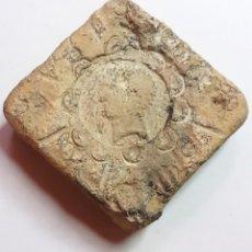 Monedas Imperio Romano: ESPECTACULAR Y ENORME TESSERA ÉPOCA ROMANA 80 DC.- 630 GR.- 53X53X18 MM.. Lote 202314148