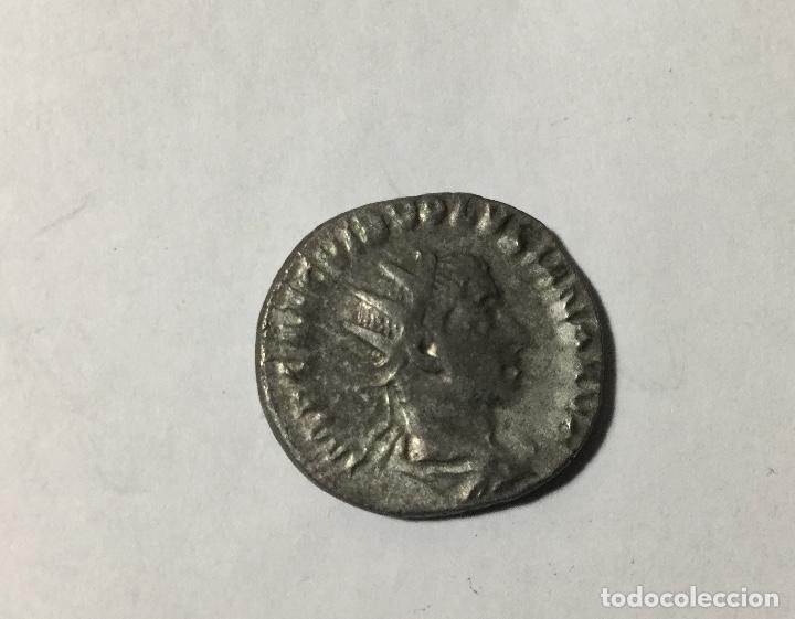 ANTONINIANO ROMANO DE VOLUSIANO , MUY EXCASO (Numismática - Periodo Antiguo - Roma Imperio)