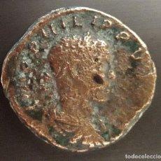 Monedas Imperio Romano: SESTERTIUS, PHILIPPVS 247-249 AD. MONEDA ROMANA. Lote 204589216