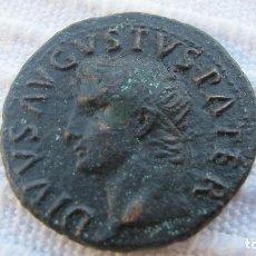 Monedas Imperio Romano: SESTERCIO DEL EMPERADOR AUGUSTO. Lote 205014046