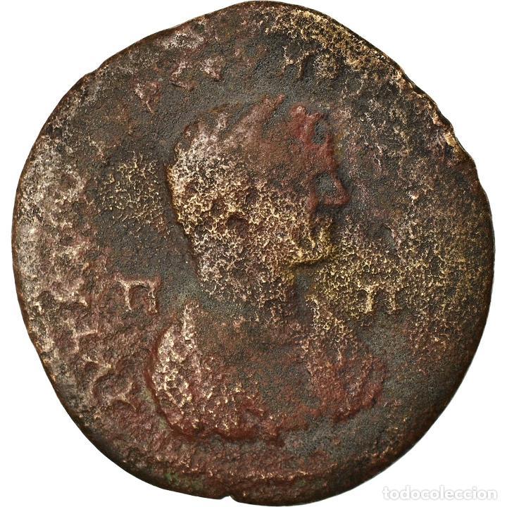 MONEDA, CILICIA, CARACALLA, BRONZE Æ, 198-217, TARSOS, BC+, BRONCE (Numismática - Periodo Antiguo - Roma Imperio)