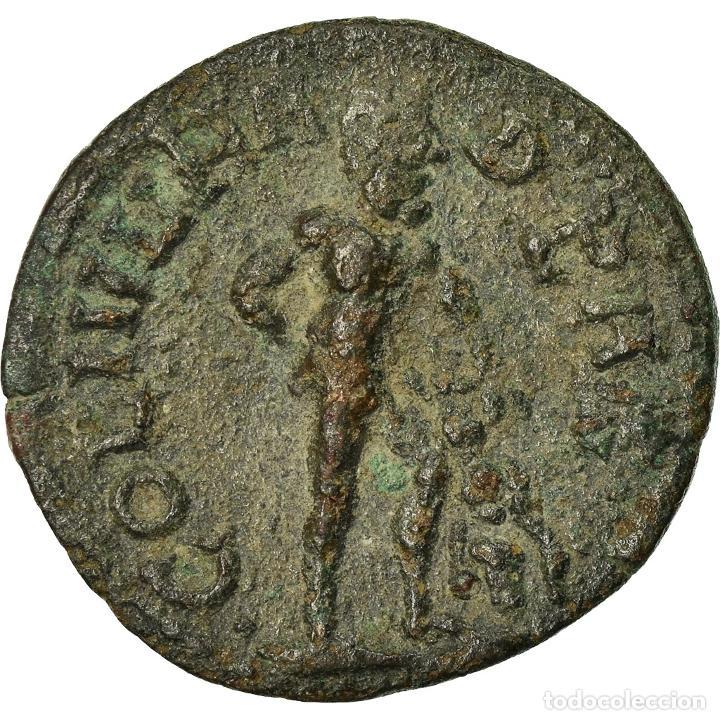 Monedas Imperio Romano: Moneda, Gallienus, Bronze Æ, 253-268, Hadrianopolis, Rare, MBC+, Bronce - Foto 2 - 205341135