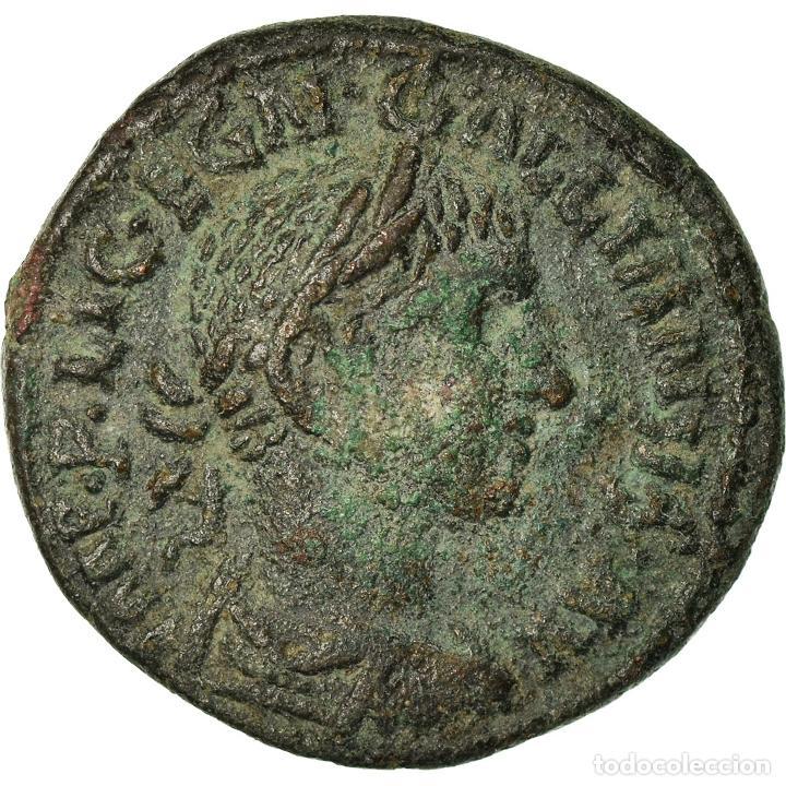 MONEDA, GALLIENUS, BRONZE Æ, 253-268, HADRIANOPOLIS, RARE, MBC+, BRONCE (Numismática - Periodo Antiguo - Roma Imperio)