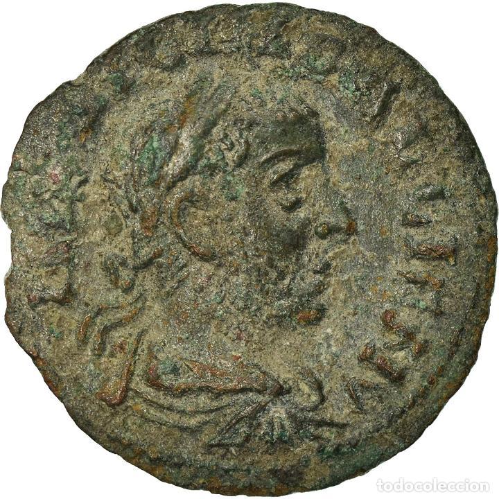 MONEDA, TROAS, GALLIENUS, BRONZE Æ, ALEXANDRIA, MBC, BRONCE, SNG-COP:- (Numismática - Periodo Antiguo - Roma Imperio)