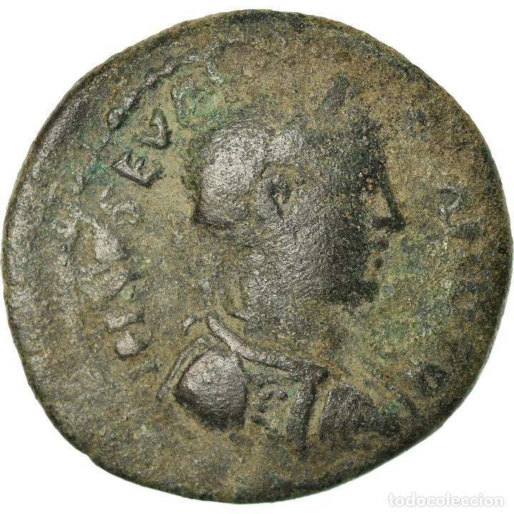 MONEDA, TROAS, SEVERUS ALEXANDER, BRONZE Æ, 222-235, ALEXANDRIA, MBC, BRONCE (Numismática - Periodo Antiguo - Roma Imperio)
