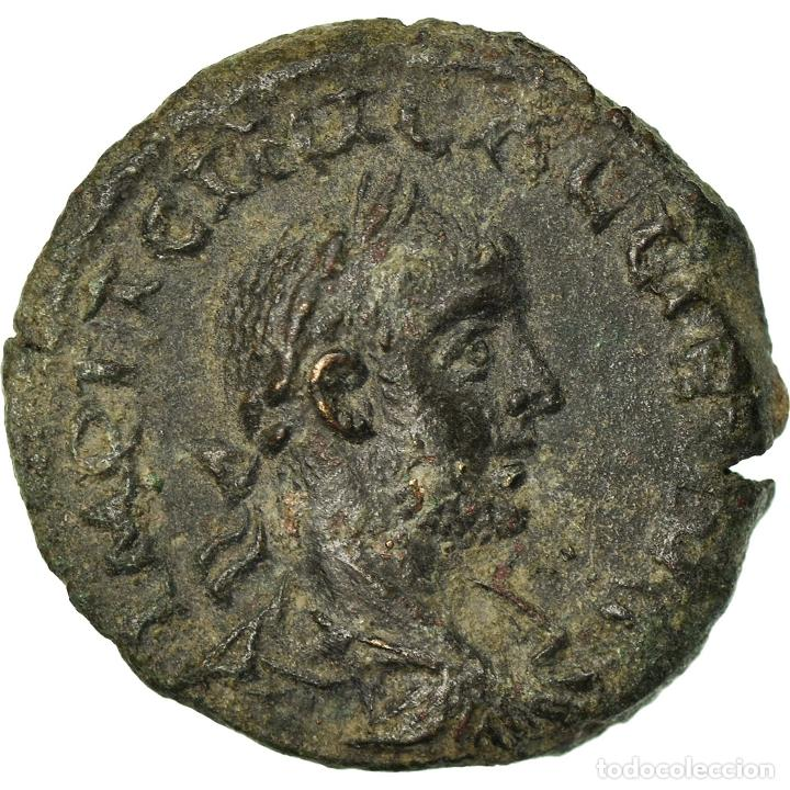 MONEDA, TROAS, GALLIENUS, BRONZE Æ, ALEXANDRIA, EBC, BRONCE (Numismática - Periodo Antiguo - Roma Imperio)