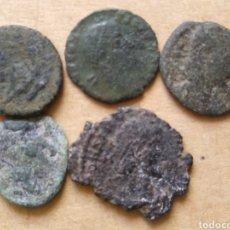 Monedas Imperio Romano: LOTE MONEDAS ROMANAS. Lote 205602936