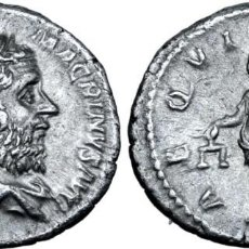 Monedas Imperio Romano: MACRINUS AR DENARIO. ROMA, AD 217-218. IMP CM OPEL SEV MACRINVS AVG. Lote 206265518