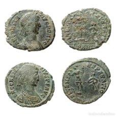Monedas Imperio Romano: CONSTANCIO II, 2 PIEZAS. FEL TEMP REPARATIO, ARLES. 17-LM. Lote 206592543