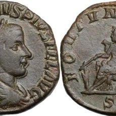 Monedas Imperio Romano: GORDIANO III (238-244). AE SESTERTIUS RIC 331. AE.17,38 MM. 29,40G. Lote 206787362