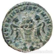 Monedas Imperio Romano: CONSTANTINP II CESAR - FOLLIS. LUGDUNUM CAUTIVOS EN EXERGO.. Lote 207288358